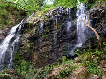 Maravillosa ruta de las Cascadas de Guanga