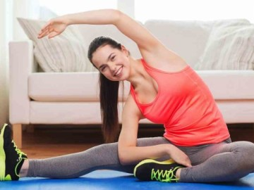 Cómo trabajar tus abdominales sin salir de casa.