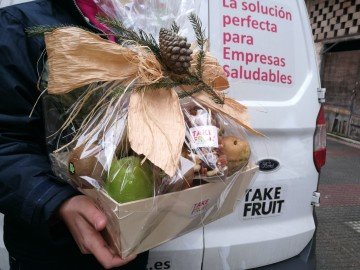 ¿Te gustaría participar en el sorteo de una fantástica cesta de fruta?