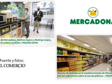 Mercadona abre en Gijón su primera tienda «contra el plástico» de Asturias-     Fuente: El Comercio