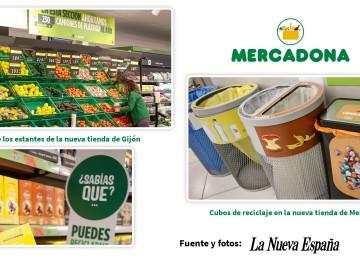 Mercadona lo ha vuelto hacer: así es su nuevo supermercado de Gijón del que habla todo el mundo FUENTE: La Nueva España