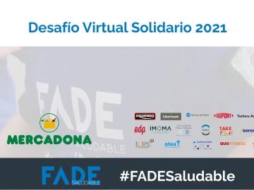 Participa en el Desafío Virtual Solidario FADE Saludable y suma tu energía a distintas organizaciones solidarias 🔋